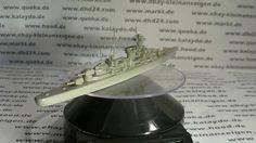"""Dieses alte Wiking Schiffsmodell """"Prinz Eugen / Hipper"""" im Maßstab 1:125..."""