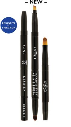 Eyeko 3-in-1 Makeup Brush