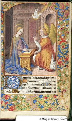 Book of Hours, MS M.380 fol. 37r - Images from Medieval and Renaissance Manuscripts - The Morgan Library & Museum
