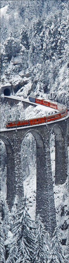 A TRAIN RIDE THROUGH THE SWISS ALPS IN THE MIDDLE OF WINTER  -  Single Travelers is just one of the many things you could do on a Singles Adventure Tour - You'll find a list of Singles Travel Specialists and Providers who offer Travel Vacation Packages, Adventure Tours and Cruises just for the Single Traveler... all in the Amazing Singles Travel Section - Amazing Singles is the Hottest Singles Resource on the Web… visit www.amazingsingles.com