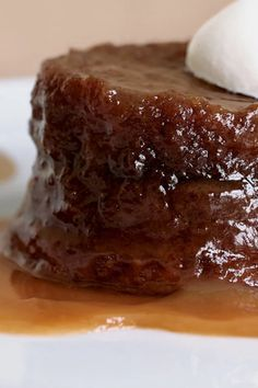 Pudding Recipes, Cake Recipes, Snack Recipes, Dessert Recipes, Pudding Desserts, Kitchen Recipes, Sticky Toffee Pudding Cake, Whipped Cream, Ice Cream