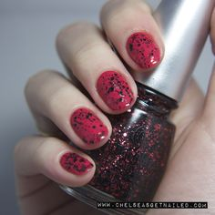 China Glaze Scattered & Tattered www.chelseasgetnailed.com