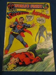 WORLDS FINEST presents Superman and Aquaman (1941 Series) #203 Fine Comics Book