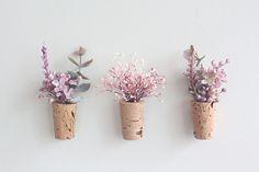 [플랜테리어] 플라워 코르크 냉장고 자석(3개 SET) : 플랜테리어 How To Wrap Flowers, How To Preserve Flowers, Small Bouquet, Floral Bouquets, Flower Cart, Flower Packaging, Dried Flowers, Flower Decorations, Flower Designs