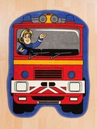 Brandweerman Sam Vloerkleedje Karpet, €24,95.