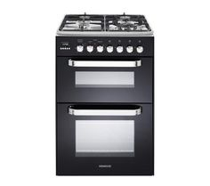 Buy KENWOOD CK231DF Dual Fuel Cooker - Black | Free Delivery | Currys  **Current favourite**