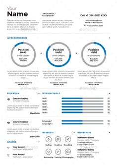 Image Result For Teacher Infographic Resume Examples  Resume