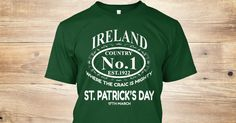 Discover St Patrick's Day T-Shirt from Dad plus only on Teespring - Free Returns and 100% Guarantee