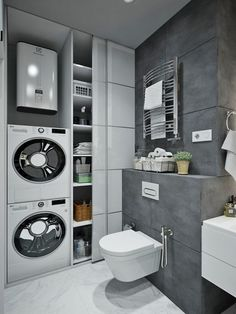 bathroom towel ideasiscertainly important for your home. Whether you choose the mater bathroom or small laundry room, you will create the best diy bathroom remodel ideas for your own life. Laundry Room Bathroom, Laundry Room Design, Budget Bathroom, Laundry Rooms, Bathroom Ideas, Bathroom Remodeling, Small Laundry, Basement Laundry, Bathroom Taps