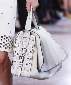 Bottega Venega - The Best Runway Bags of Milan Fashion Week Spring 2018 - PurseBlog