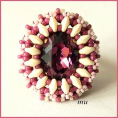 Korona gyűrű Mu-tól - Korona questo tutorial prevede la perla centrale con i buchi
