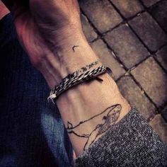 Or whale: | 65 Totally Inspiring Ideas For Wrist Tattoos