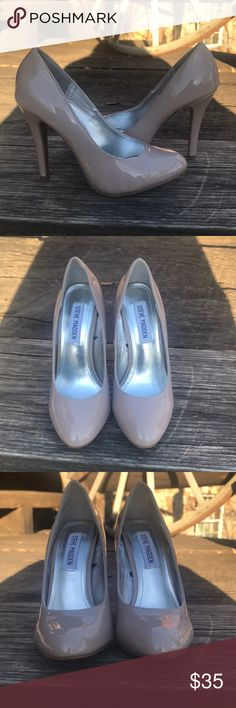 Steve Madden P-Ronni Nude Heels Gorgeous Steve Madden heels. They are a darker nudish color and have an approx 4.5 inch heel Steve Madden Shoes Heels