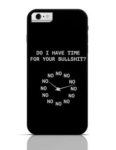 iPhone Covers & Cases: Buy cool yet designer iPhone Matte Covers for your iPhone. Shop for No Time iPhone 6 Case at PosterGuy.in Free Delivery & COD. Iphone Shop, Iphone 6, Cool Posters, 6 Case, Have Time, Free Delivery, Cod, Apple Watch, Cool Stuff