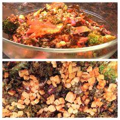 Homemade Veg Zone: Tandoori Kale
