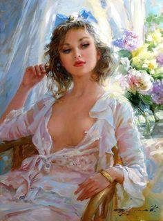 Feminine Beauty : feminine, beauty, Feminine, Beauty, Ideas, Female, Beautiful, Paintings