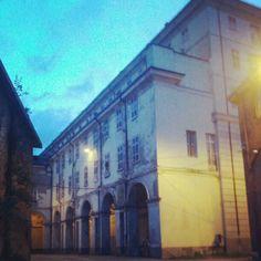 Torino da scoprire, angoli nascosti, Cavallerizza Reale #instagramyourcity - @michelepz- #webstagram