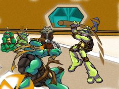 TMNT-practice by tmask01