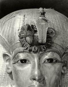Outermost Coffin of Tutankhamun, 1926, by Harry Burton | Flickr - Photo Sharing!