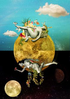 """Venusi[amas] ~~ """"Vênus complementar, atraindo e encaixando dia e noite. O sol…"""