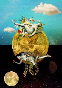 """Venusi[amas] ~~ """"Vênus complementar, atraindo e encaixando dia e noite. O sol em…"""