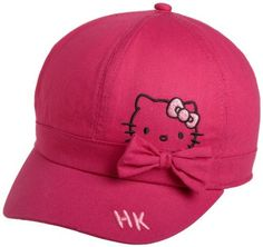 Hello Kitty Mittens Hat Girls NWT New Pink Cat