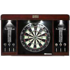 Sherwood Oak Dartboard Cabinet | Dart Board Cabinet Dart Cabinet ...
