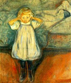 Den døde mor, Edvard Munch, 1899-1900