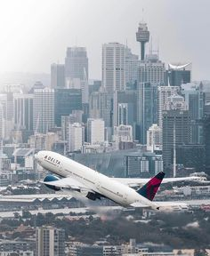 has so much history that it has a whole museum! Opened in Delta Flight Museum has allowed visitors to discover the history and… Delta Flight, Australian Continent, Airplane Photography, Passenger Aircraft, Commercial Aircraft, Jet Plane, Museum, City, Airplanes
