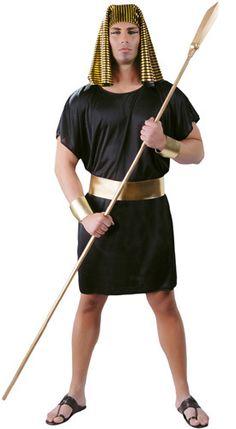 Disfraz de Egipcio Guardia Negra adulto