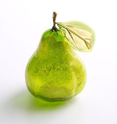 Murano Glass Pear, Home Furnishings, Best Sellers - The Museum Shop of The Art Institute of Chicago
