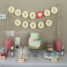 Hey, I found this really awesome Etsy listing at https://www.etsy.com/listing/229016448/love-is-sweet-banner-wedding-banner