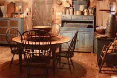 Primitive Early Kitchen