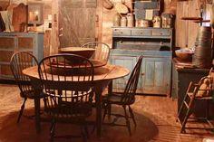 Primitive Early Kitchen