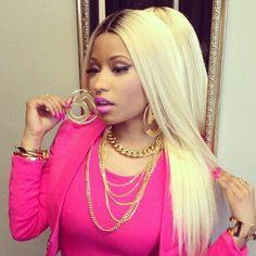 Nicki blonde hair
