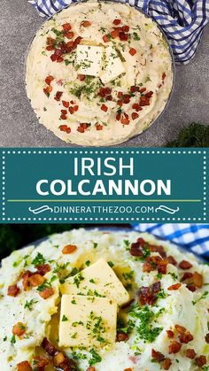 This colcannon recipe is a mix of mashed potatoes, sauteed cabbage and bacon, all combined to form a hearty and savory side dish. Cabbage And Potatoes, Cabbage And Bacon, Cabbage Recipes, Mashed Potatoes, Colcannon Potatoes, Sauteed Cabbage, Vegetable Recipes, Vegetarian Recipes, Cooking Recipes
