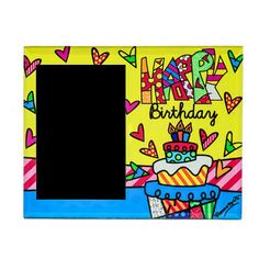 PICTURE FRAME - HAPPY BIRTHDAY
