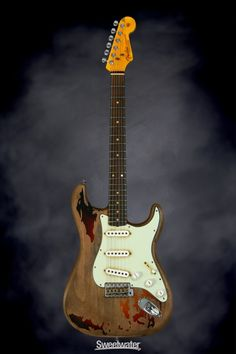 Fender Custom Shop Rory Gallagher Tribute Stratocaster | Sweetwater.com
