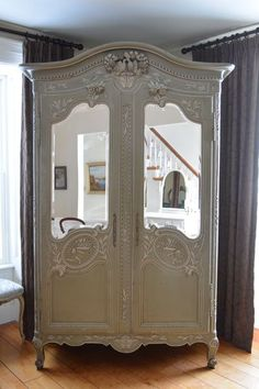 """French Inspired Quality Antique & Vintage Fine Furniture, """"French Country Toronto,"""" add mirror- z room"""