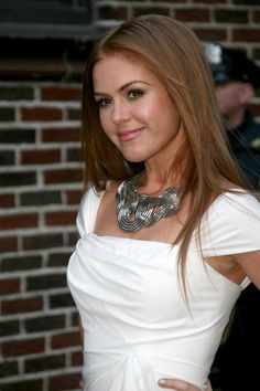 Isla Fisher - kind of obsessed with her hair. And her, let's be honest.