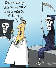 ordering this x-ray sure was a waste of time