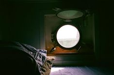 My bunk. I slept so well in this bed the porthole has the most distinct smell of salt and copper that I cant imagine smelling anywhere but there. My cabin backed onto the galley which we handy as cook. Love Film, Shoot Film, Sailing Boat, Film Photography, Salt, Copper, Cabin, Cook, Mirror