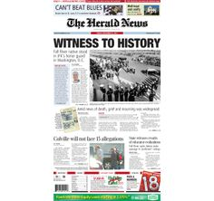 The front page of The Herald News for Friday, Nov. 22, 1963. #fallriver
