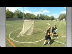 Women's Lacrosse Defense Defending the Crease: How to play Womens Lacrosse