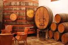 Historic Sebastiani Barrel Room. #Sonoma
