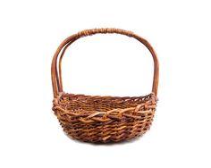 Vintage Hand Woven Grapevine Basket Cane by LeVintageGalleria $68