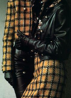 Malisy, Elle magazine, September 1989. Photograph by Christian Moser.