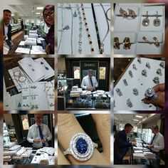Working hard at Bob Thompson Jewellers. Picking very special pieces for our Simon G Jewellery collection.   #simongjewelry #bobthompsonjewellers #downtown #ottawa #new #collection #beautiful #pieces #special #designs #pickedup #for #you