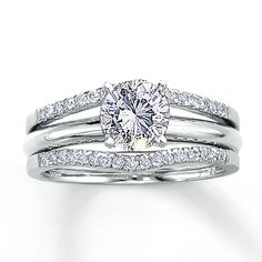 want this solitaire enhancer for my engagement ring jared diamond enhancer ring 1