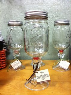 Hillbilly Wine Glass!! LOVE